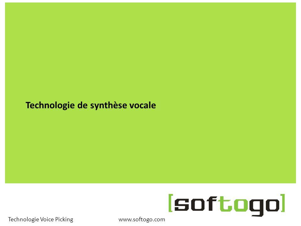 Technologie de synthèse vocale