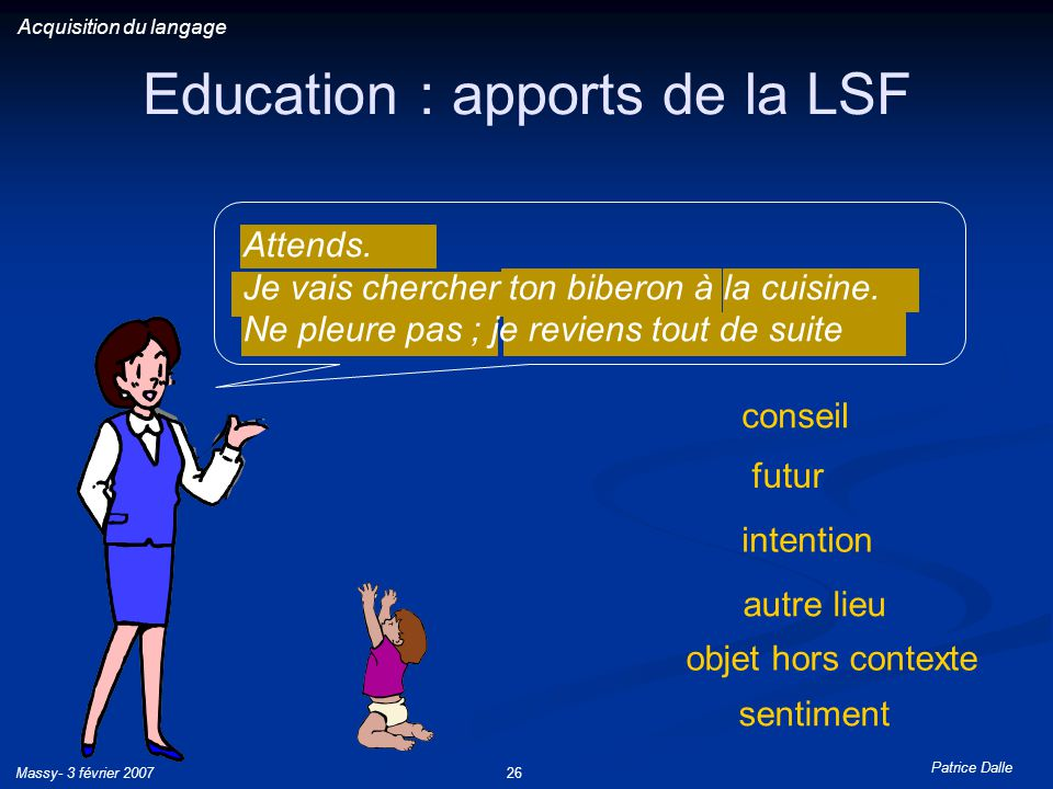 Education : apports de la LSF