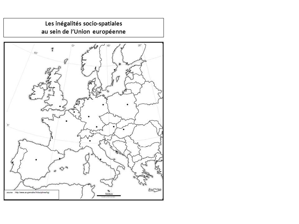 Les inégalités socio-spatiales au sein de l'Union européenne