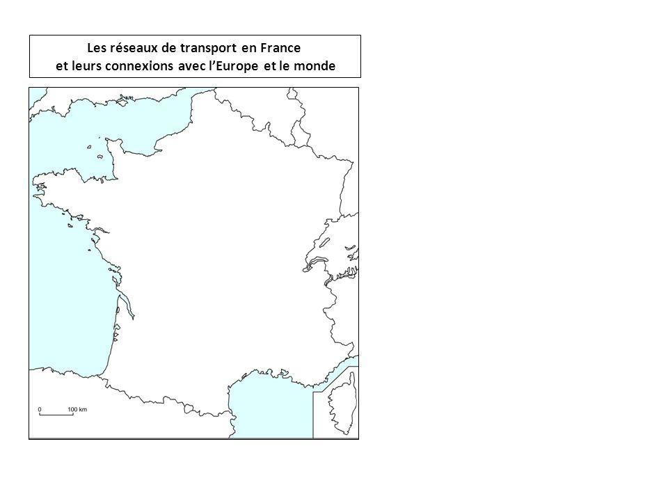 Les réseaux de transport en France