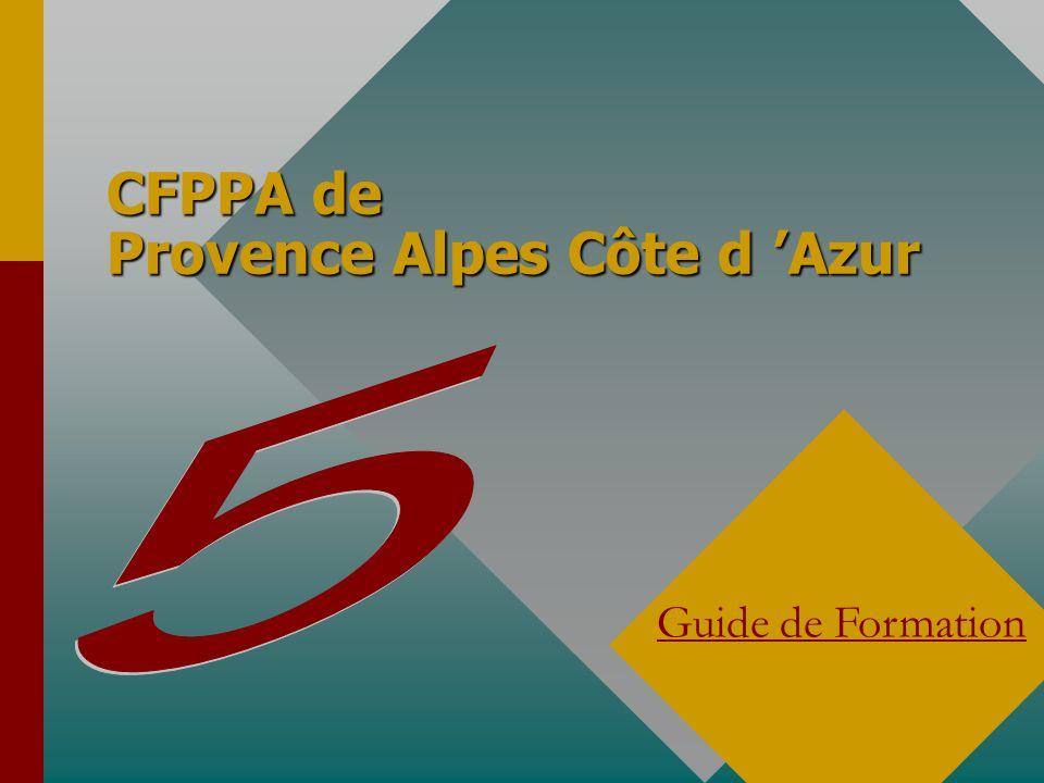 CFPPA de Provence Alpes Côte d 'Azur