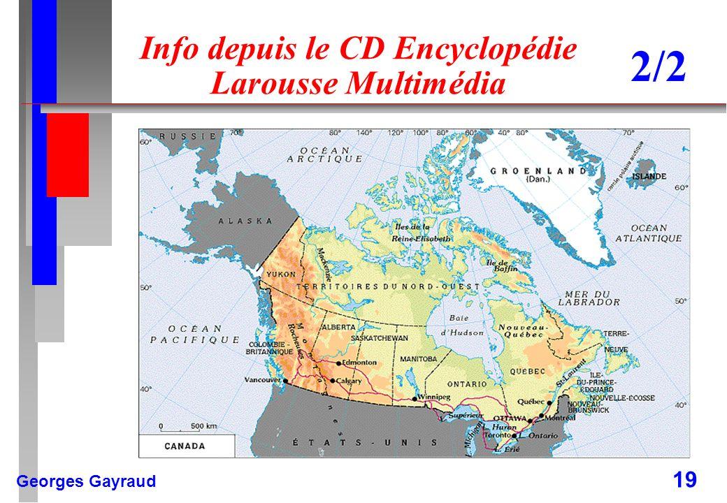 Info depuis le CD Encyclopédie Larousse Multimédia