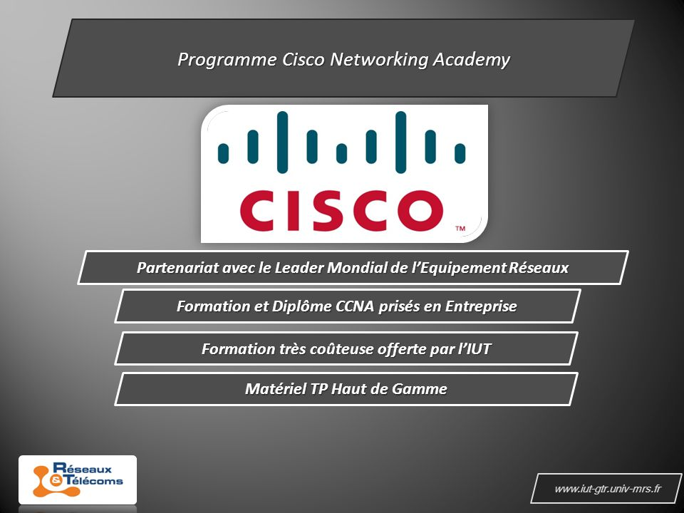 Programme Cisco Networking Academy