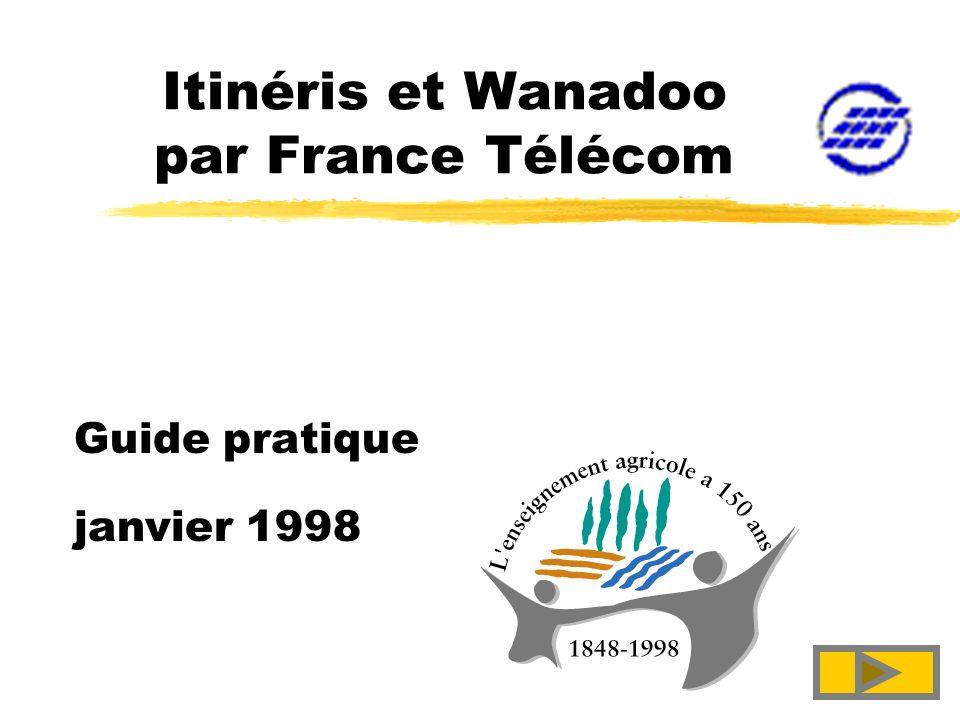 Itinéris et Wanadoo par France Télécom