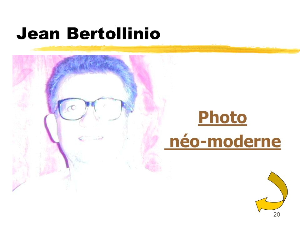 Jean Bertollinio Photo néo-moderne
