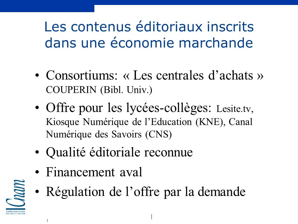 Les contenus éditoriaux inscrits dans une économie marchande