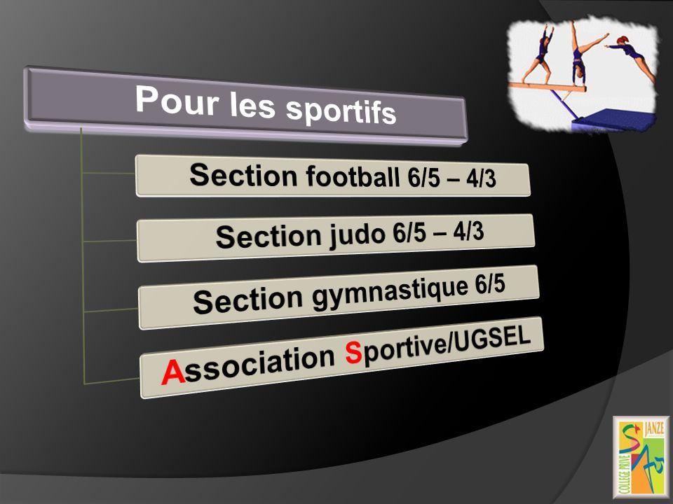 Association Sportive/UGSEL