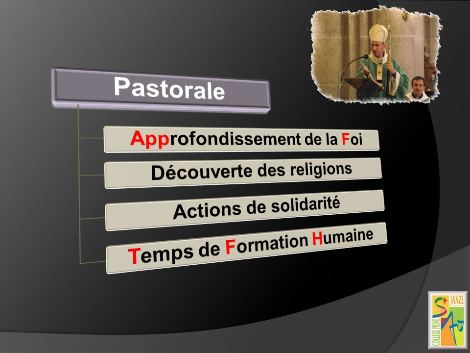 Pastorale Approfondissement de la Foi Découverte des religions