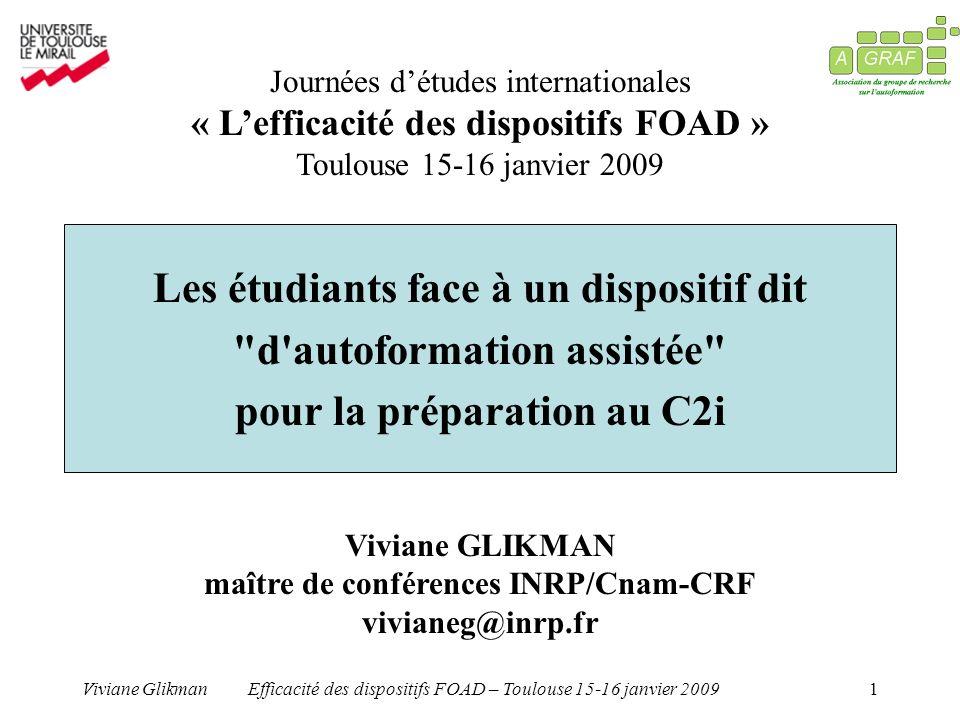 maître de conférences INRP/Cnam-CRF