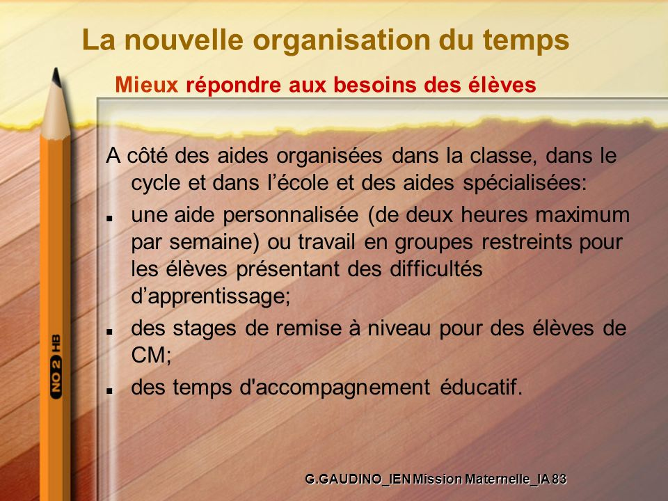 G.GAUDINO_IEN Mission Maternelle_IA 83
