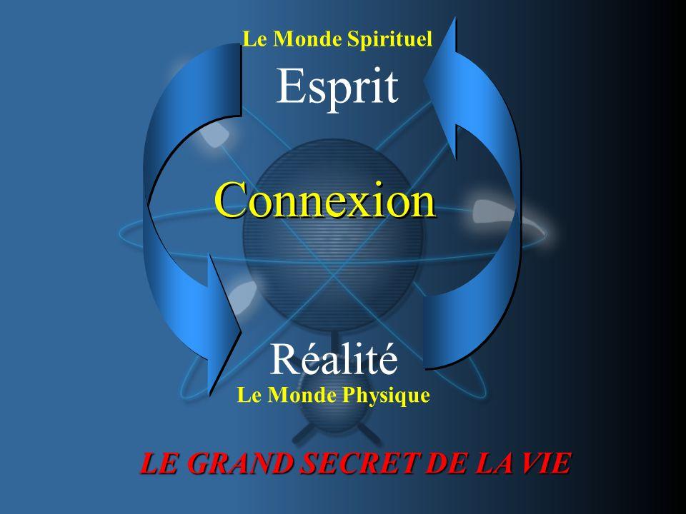 Esprit Connexion Réalité LE GRAND SECRET DE LA VIE Le Monde Spirituel