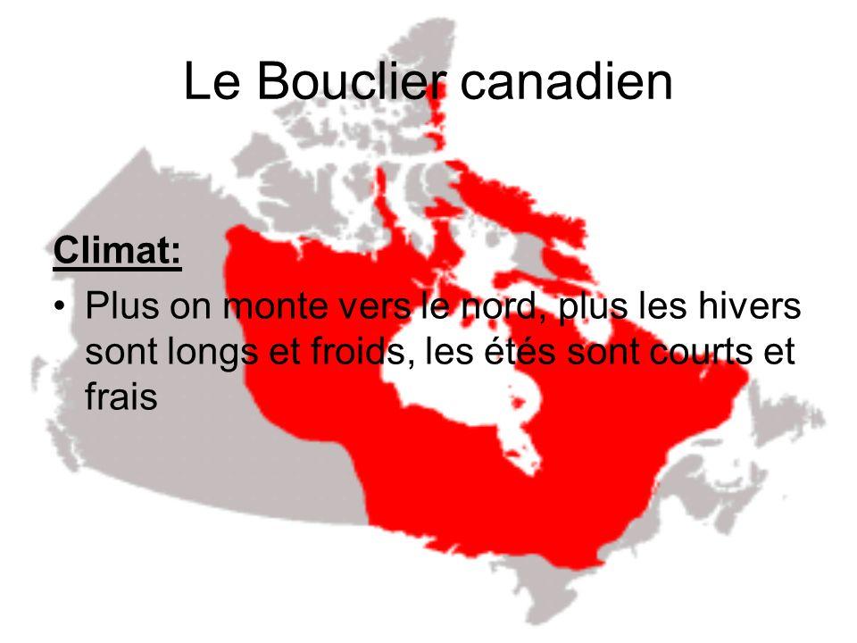 Le Bouclier canadien Climat: