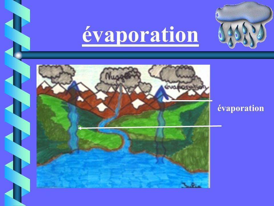 évaporation évaporation