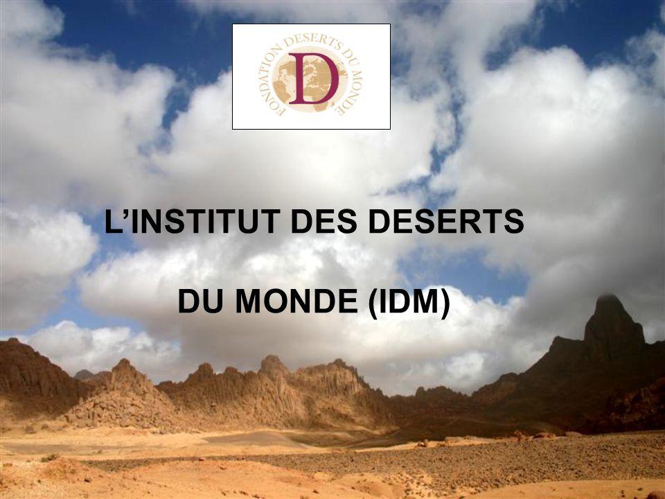 L'INSTITUT DES DESERTS