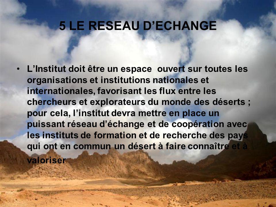5 LE RESEAU D'ECHANGE