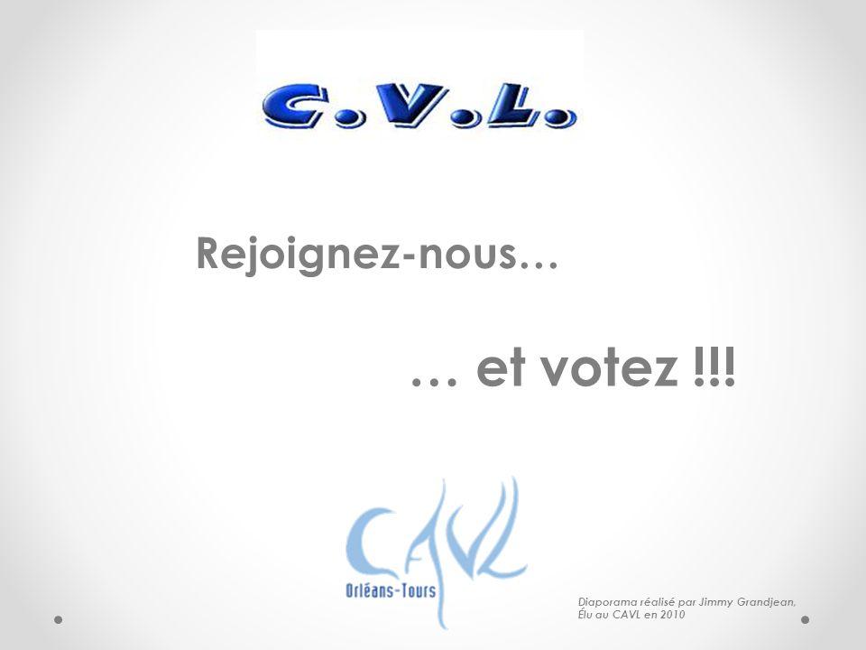 … et votez !!! Rejoignez-nous… Diaporama réalisé par Jimmy Grandjean,