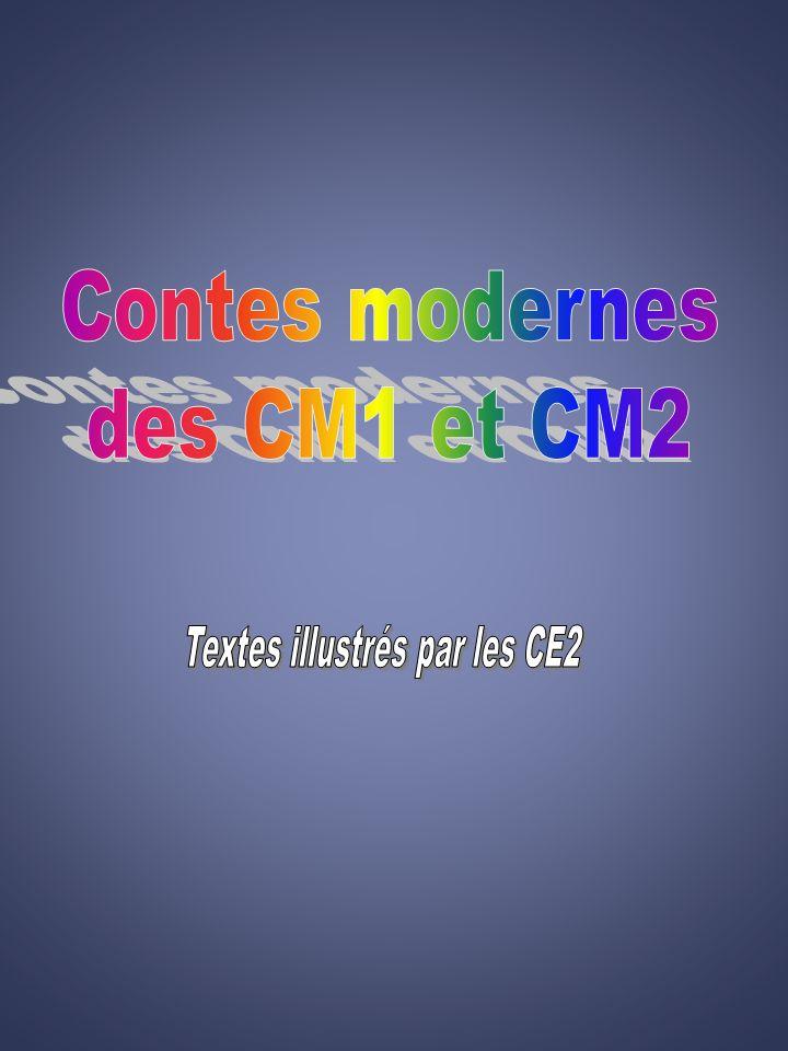 Textes illustrés par les CE2