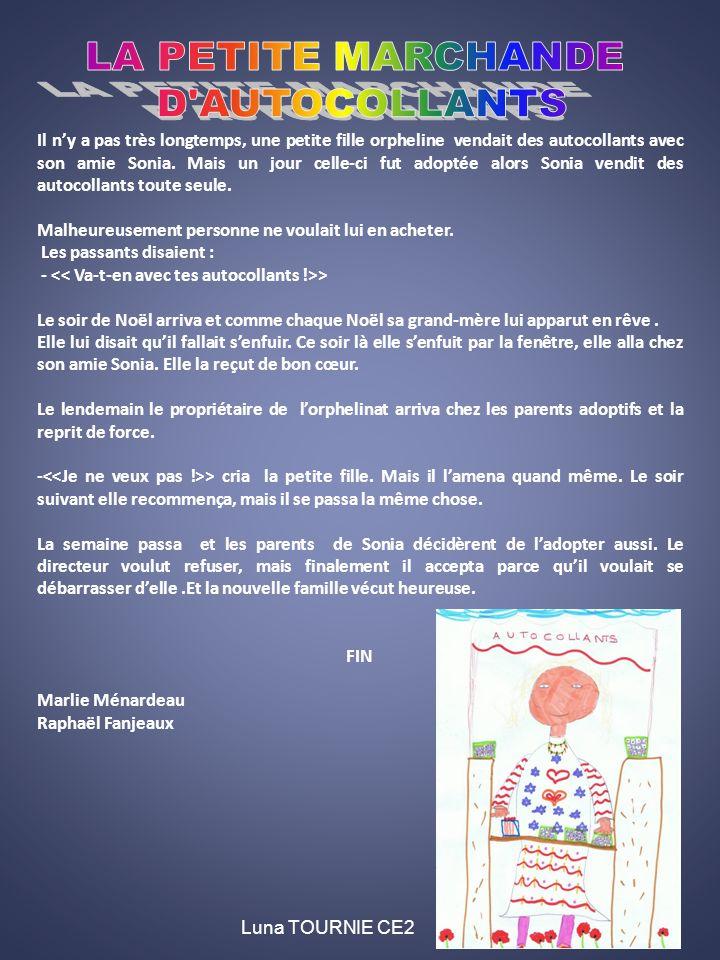 LA PETITE MARCHANDE D AUTOCOLLANTS
