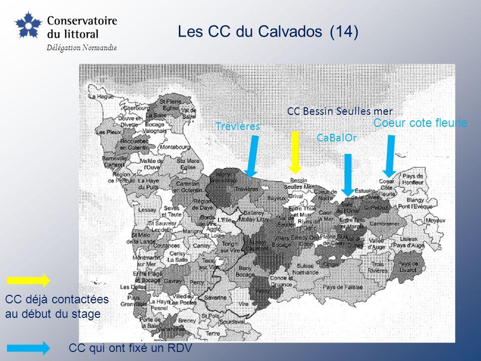 Les CC du Calvados (14) CC Bessin Seulles mer Coeur cote fleurie