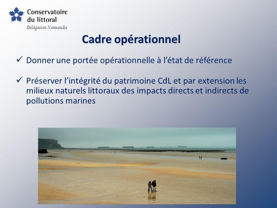 Délégation Normandie Cadre opérationnel. Donner une portée opérationnelle à l'état de référence.