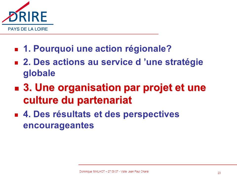 3. Une organisation par projet et une culture du partenariat