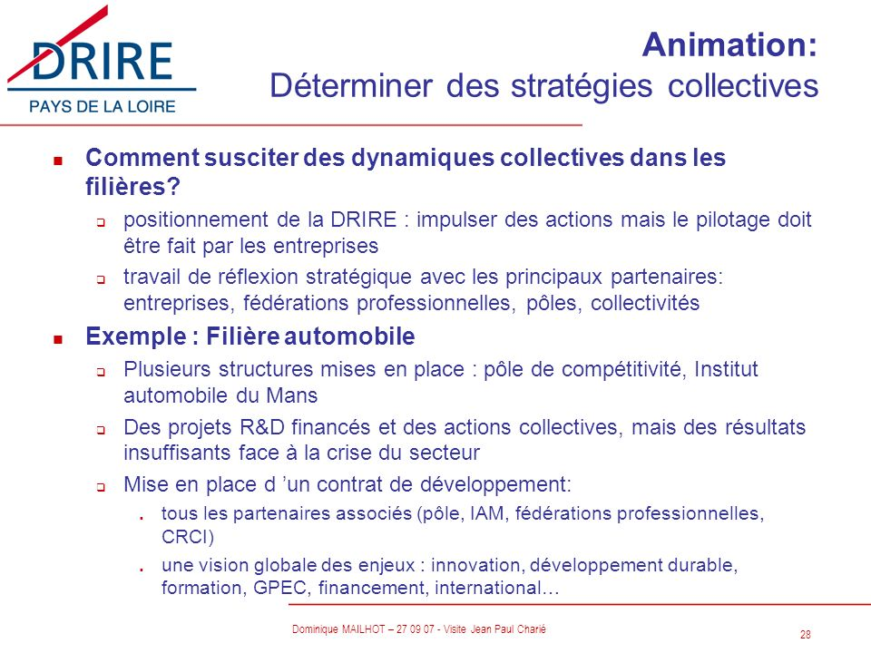 Animation: Déterminer des stratégies collectives