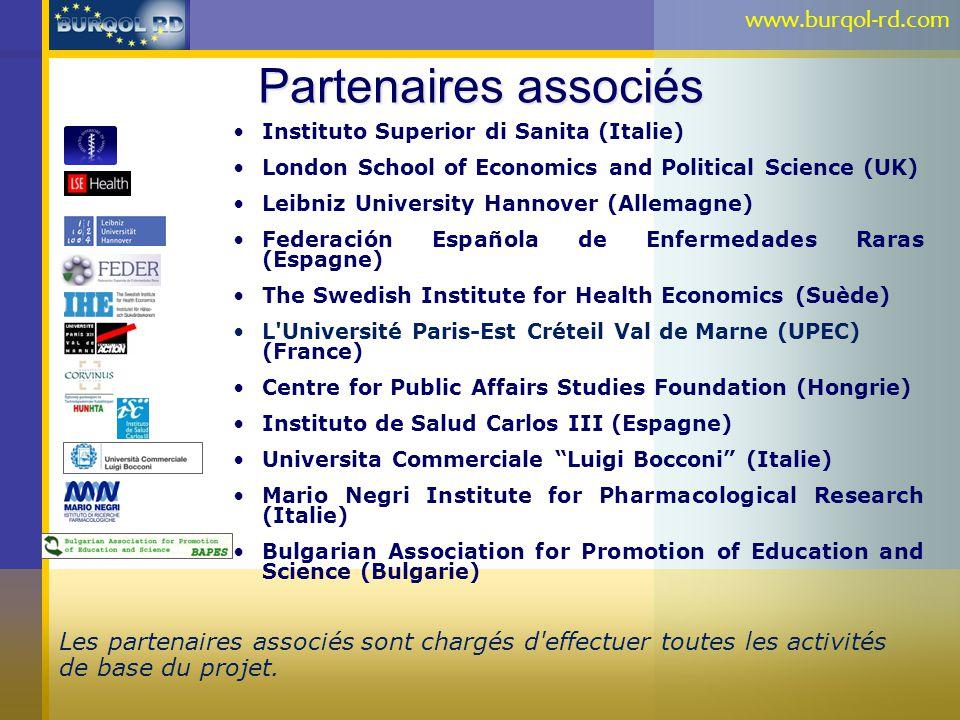 Partenaires associés www.burqol-rd.com