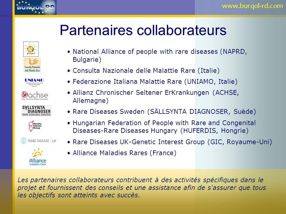 Partenaires collaborateurs