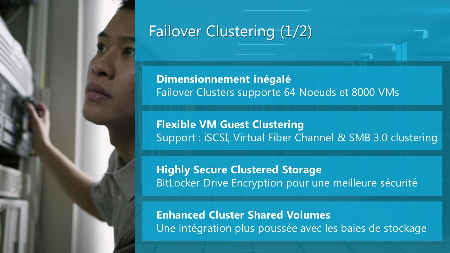 Failover Clustering (1/2)