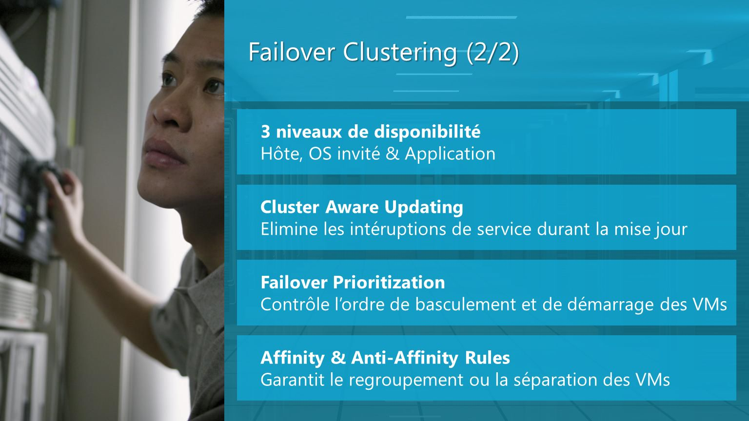 Failover Clustering (2/2)