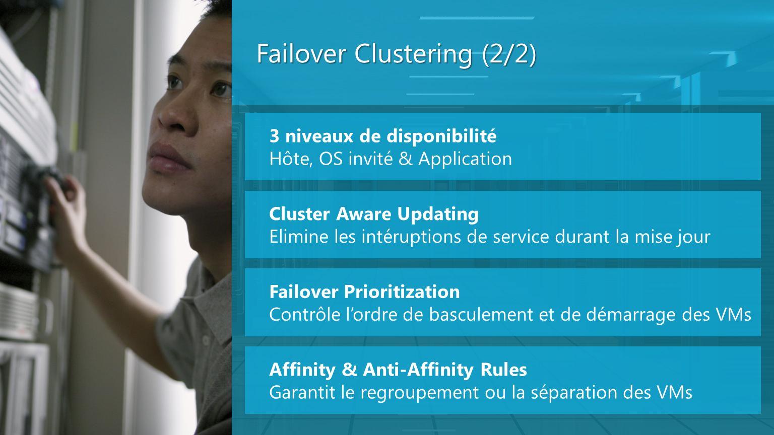 Failover Clustering (2/2)