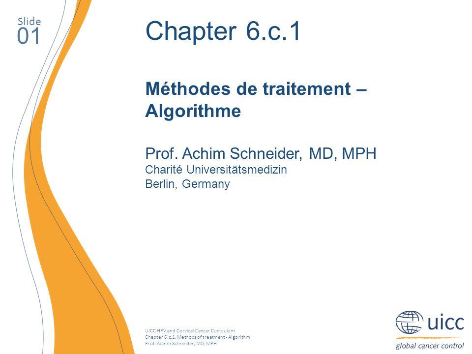 Chapter 6.c.1 01 Méthodes de traitement – Algorithme