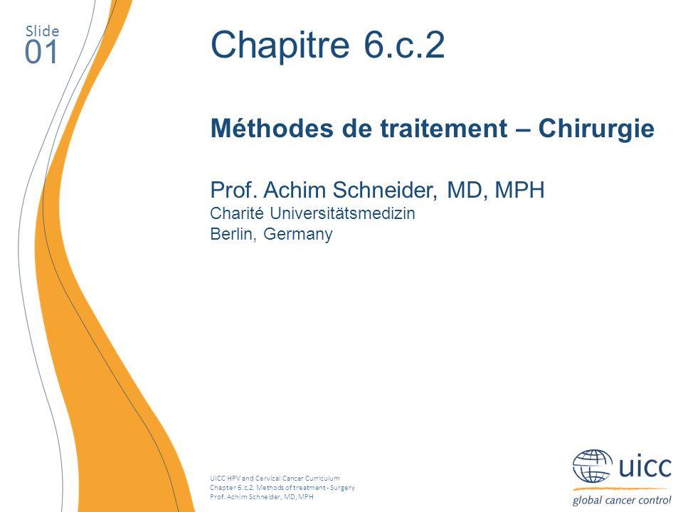 Chapitre 6.c.2 01 Méthodes de traitement – Chirurgie