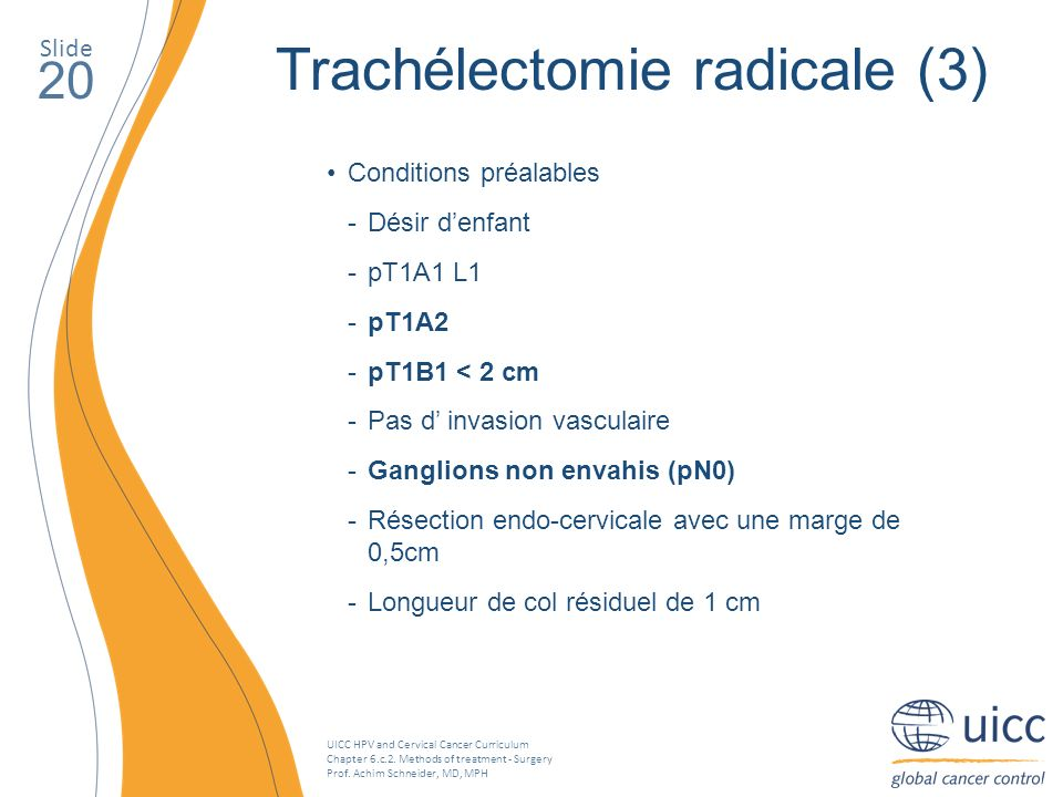 Trachélectomie radicale (3)