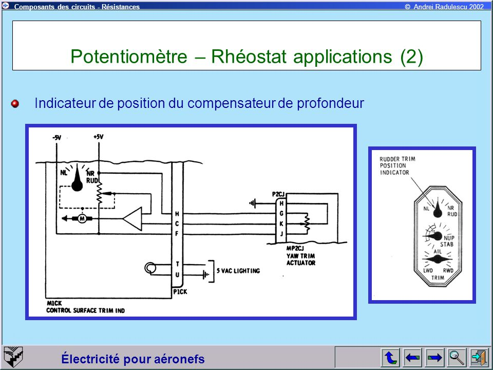 Potentiomètre – Rhéostat applications (2)
