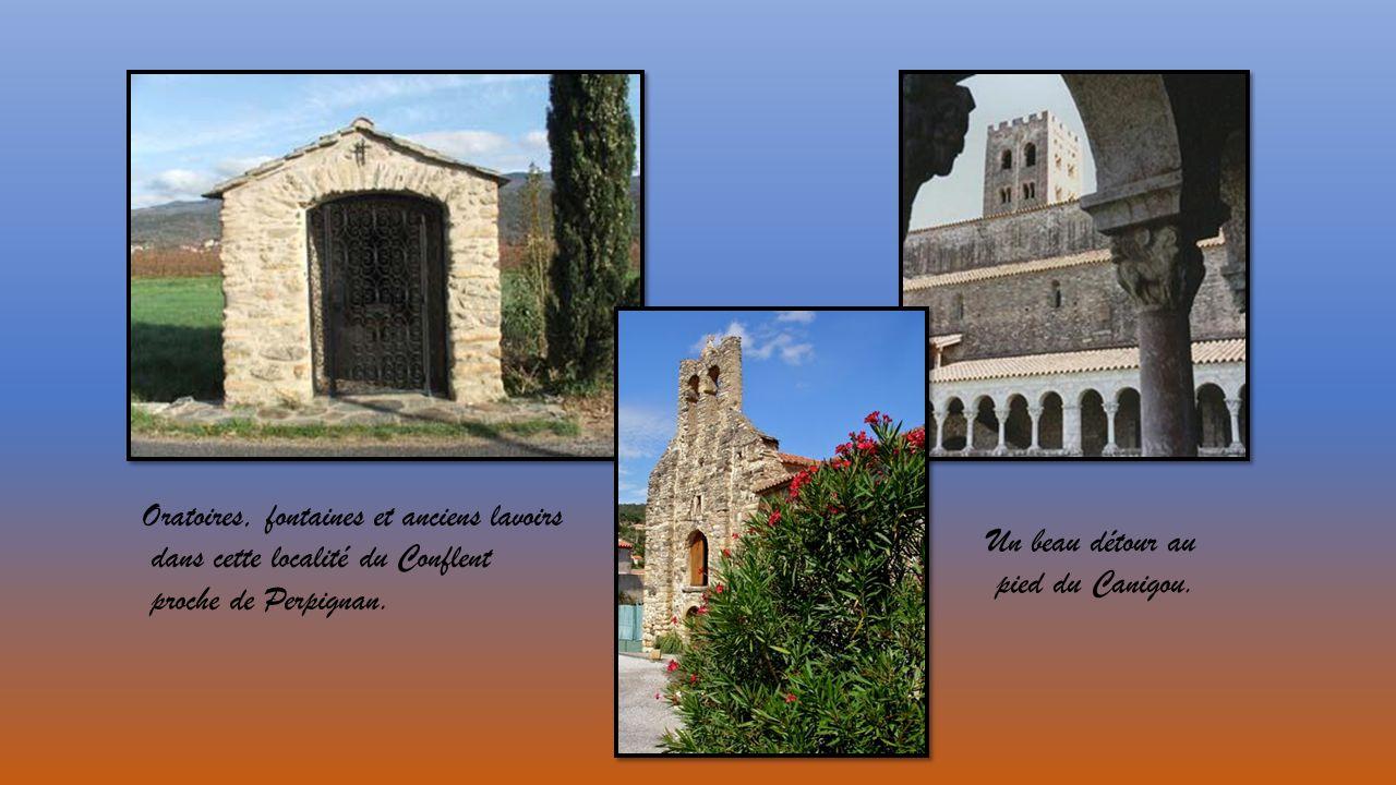 Oratoires, fontaines et anciens lavoirs