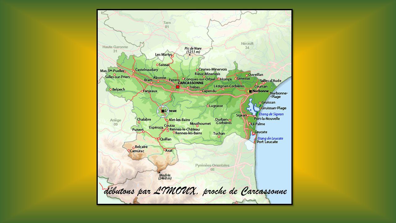 débutons par LIMOUX, proche de Carcassonne
