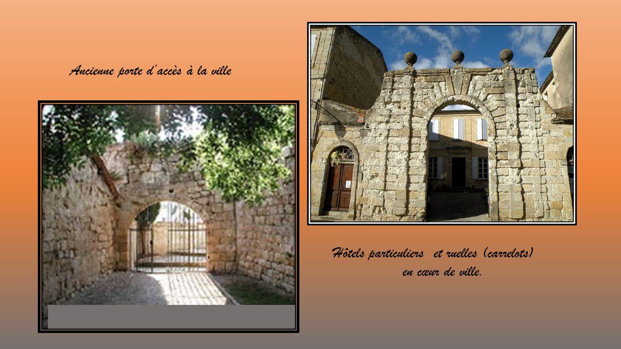 Ancienne porte d'accès à la ville