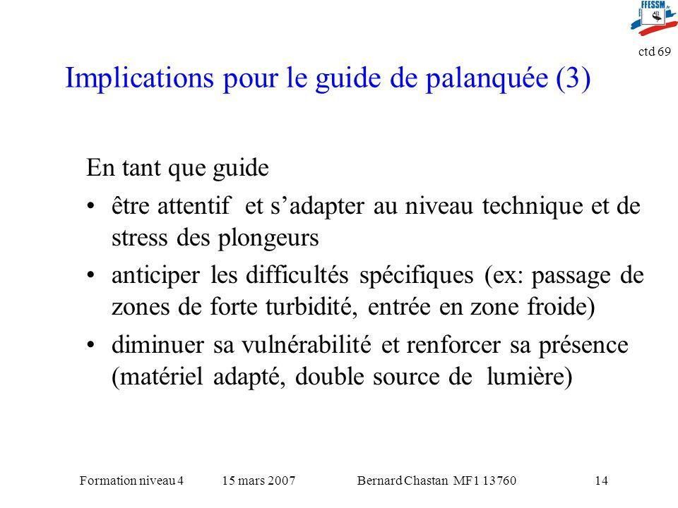 Implications pour le guide de palanquée (3)
