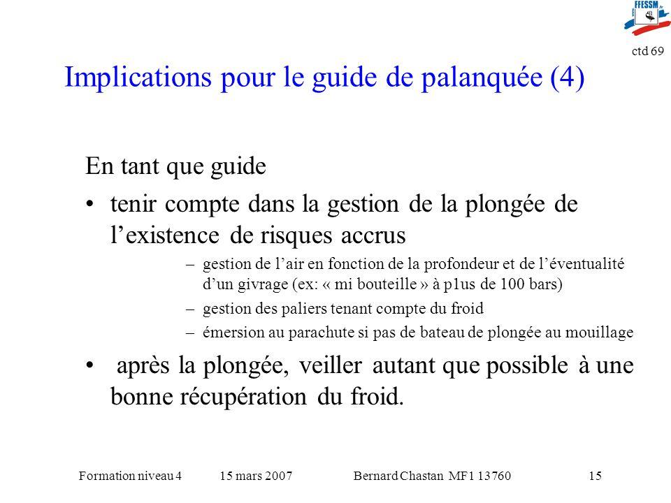 Implications pour le guide de palanquée (4)