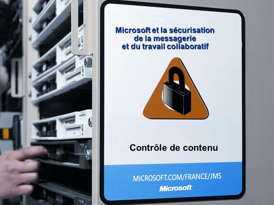 Microsoft et la sécurisation. de la messagerie