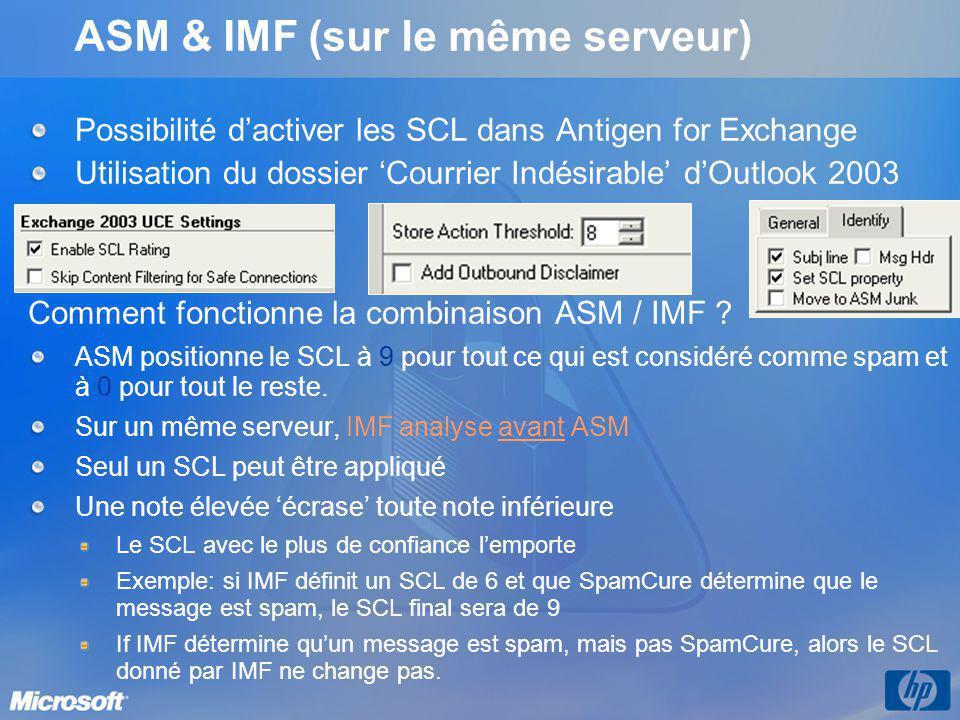 ASM & IMF (sur le même serveur)