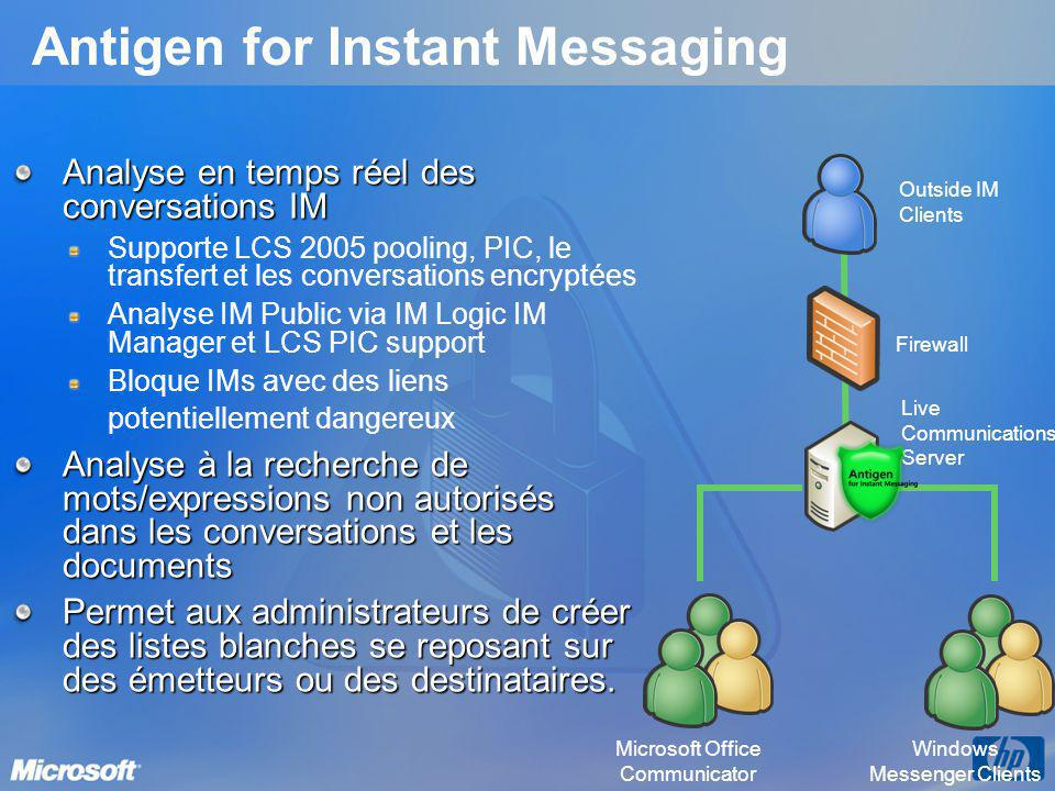 Antigen for Instant Messaging