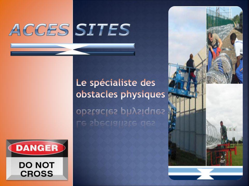 Le spécialiste des obstacles physiques
