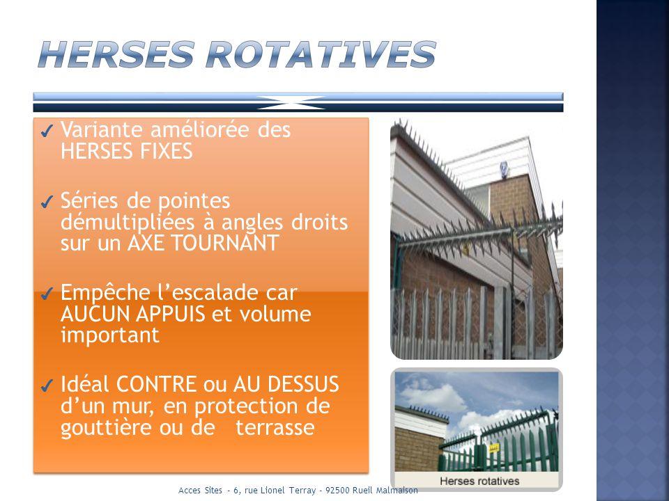 Acces Sites - 6, rue Lionel Terray - 92500 Rueil Malmaison