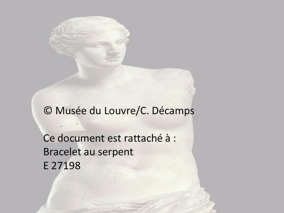 © Musée du Louvre/C. Décamps