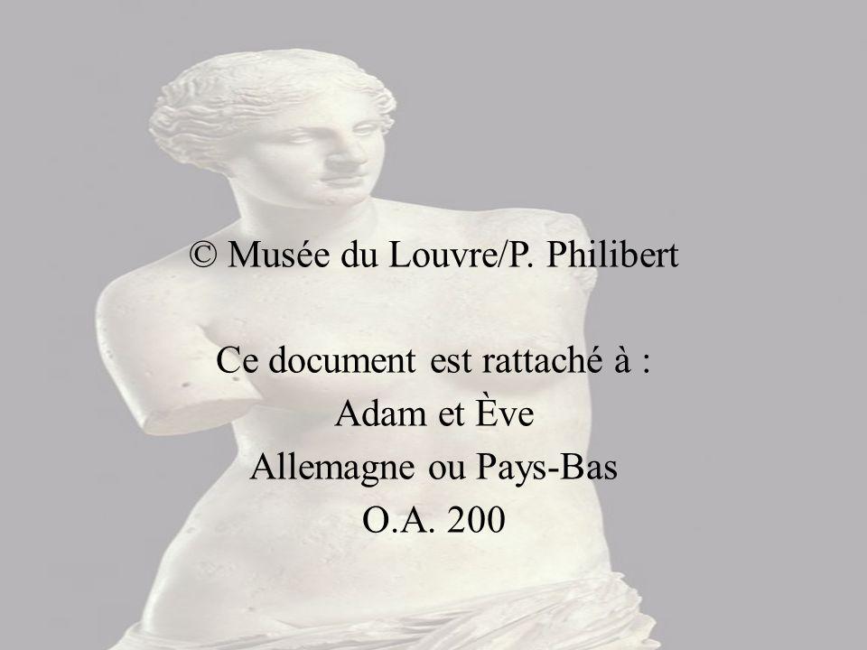 © Musée du Louvre/P. Philibert Ce document est rattaché à :