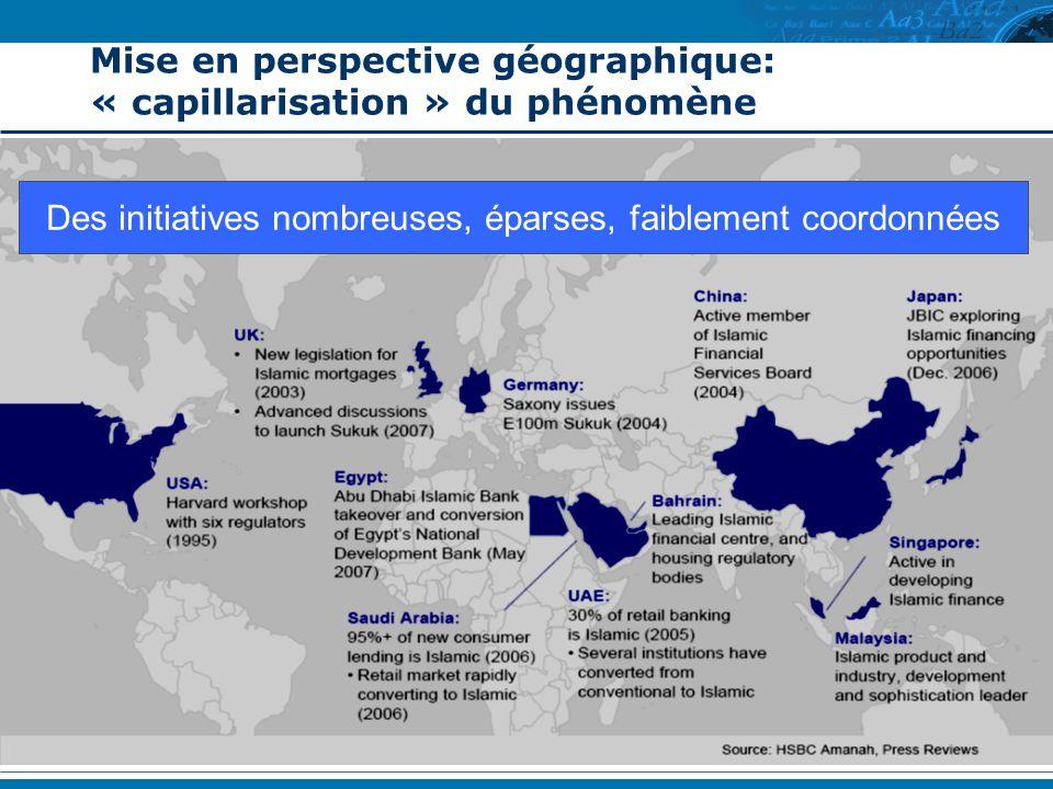 Mise en perspective géographique: « capillarisation » du phénomène