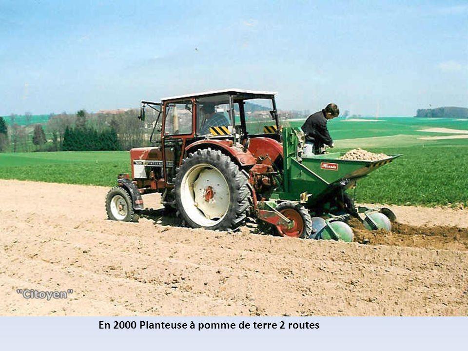 En 2000 Planteuse à pomme de terre 2 routes