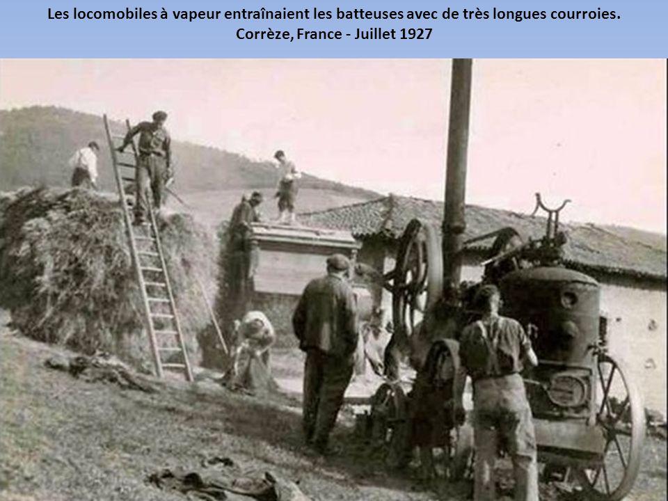Corrèze, France - Juillet 1927